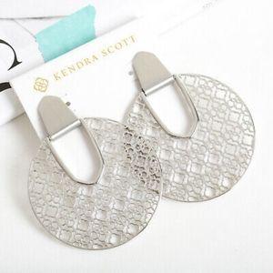 Nwt Kendra Scott earrings in silver